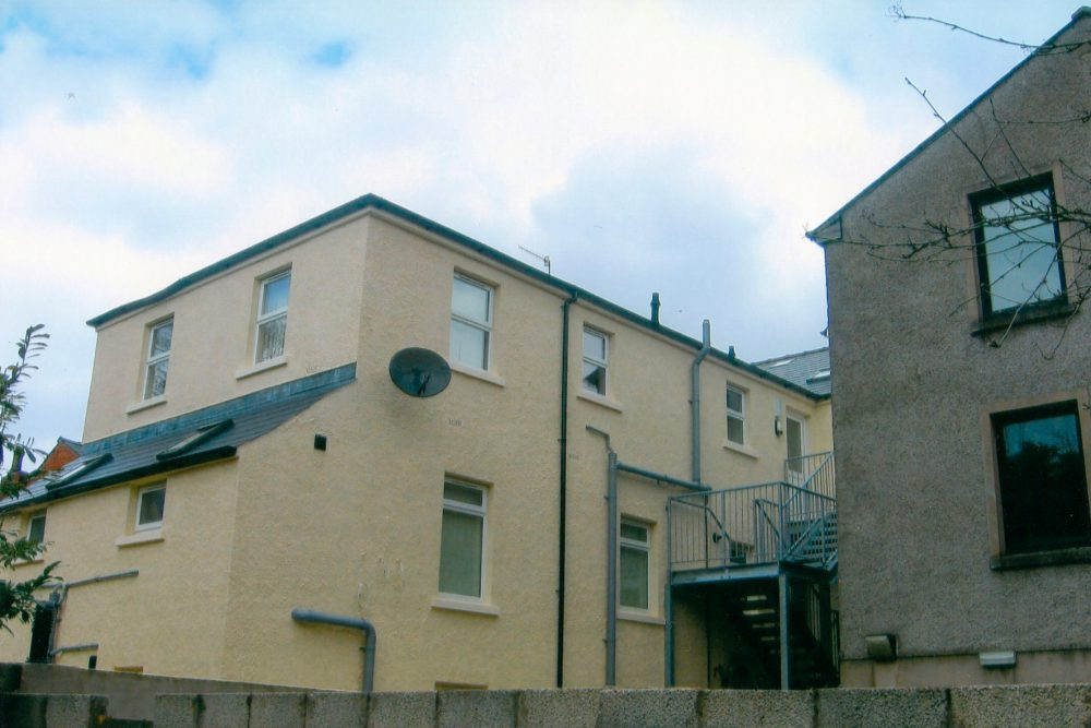 Change of use from 2 houses into 6 no 2 bed  apartments 6-8 Malone Avenue
